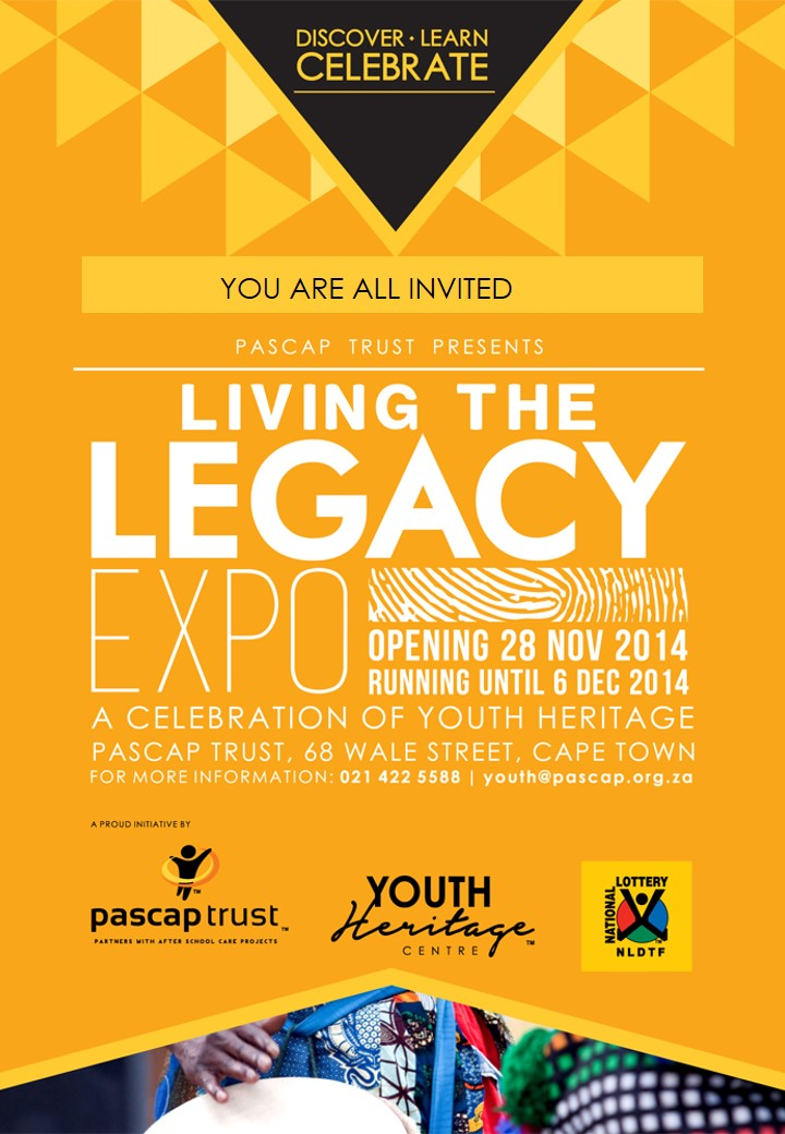 INVITATION-YOUTH HERITAGE EXHIBITION | PASCAP Trust